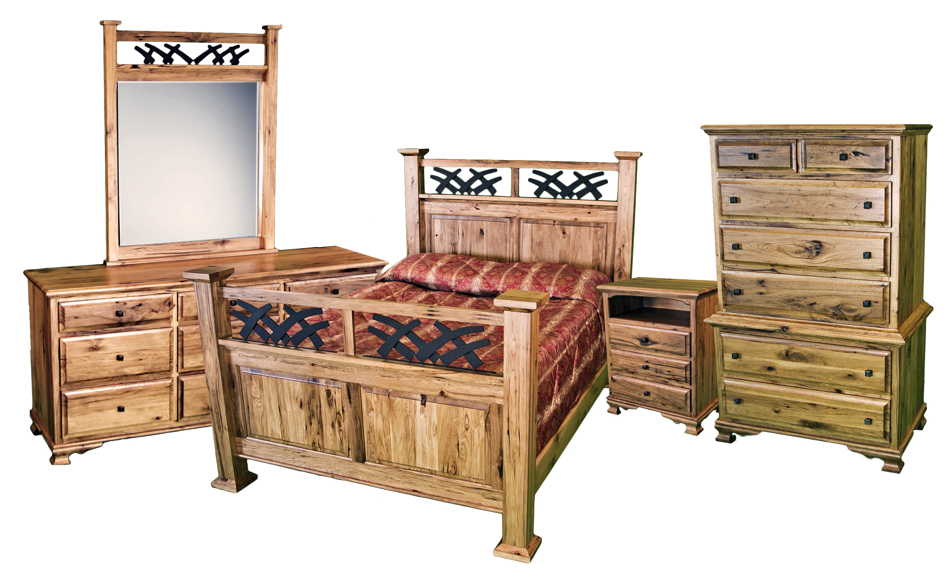 Rockwell amish bedroom set timber lodge furniture - Amish bedroom furniture ...